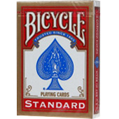 Фотография Карты для покера Bicycle Standard (красные) [=city]